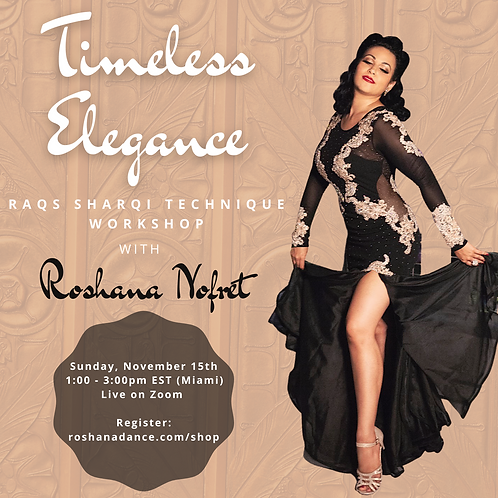 Timeless Elegance Technique Workshop