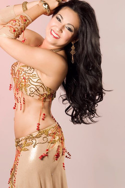 red beading Sahar Okasha costume! Send me a direct message if you are interested!__Photo by Cindy Fa