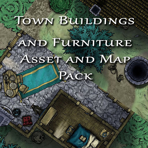 Town Buildings and Furniture