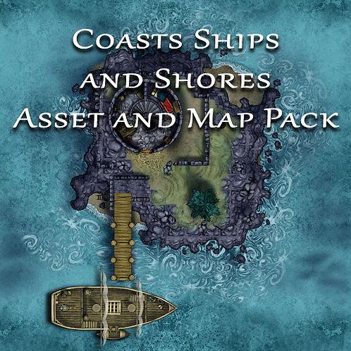 Coasts Ships and Shores