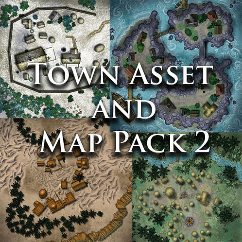 Town Asset and Map Pack 2