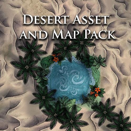 Desert Asset and Map Pack