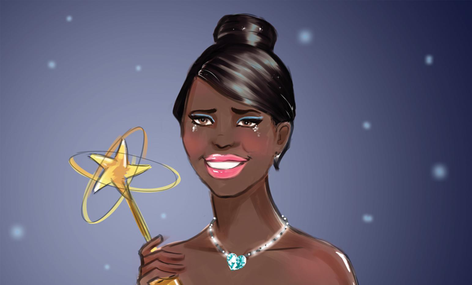 Sensational Winning Actress