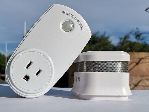 Smoke alarm for 3D printer