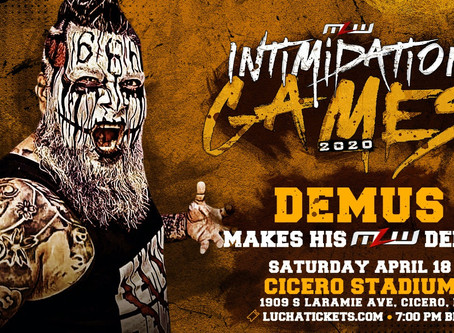 Mini Luchador Demus Debut In MLW On April 18 In Chicago