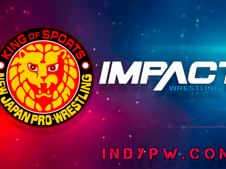 Update On NJPW Blocking Wrestlers From Appearing For Impact Wrestling