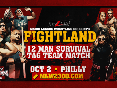 MLW 12-MAN Survival Tag Team Match This Saturday In Philly
