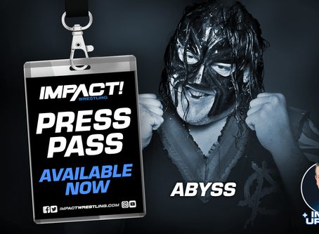 Hall of Fame Inductee Abyss on Press Pass