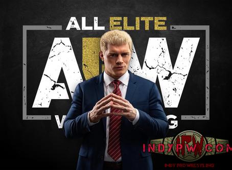 Cody Rhodes AEW Media Call