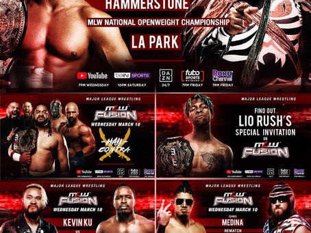 MLW FUSION Preview: Hammerstone vs. LA Park - National Championship