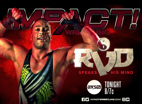 More Information On Rob Van Dam and Katie Forbes Exit From Impact Wrestling