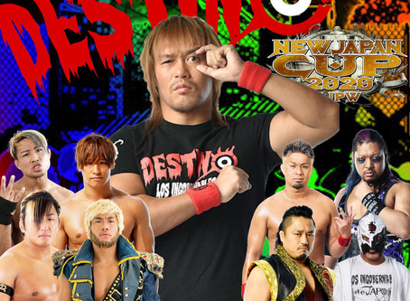 Destino NJPW Podcast - New Japan Cup Nights 3-5 Review