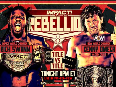 Rich Swann vs Kenny Omega, Title vs Title, IMPACT vs AEW