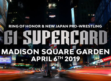 Ring Of Honor Releases G1 Supercard At MSG Ticket Information