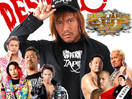 New Japan Cup Night 1 & 2 Review (Podcast)