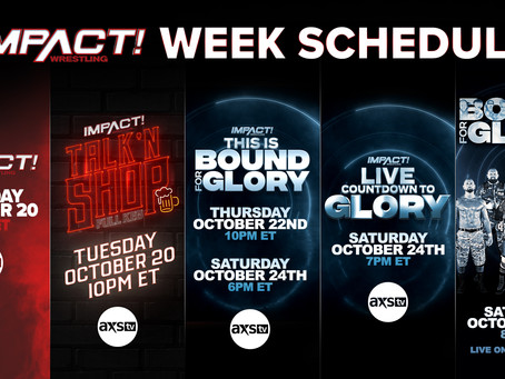 AXS TV & IMPACT Wrestling Present First-Ever IMPACT Week