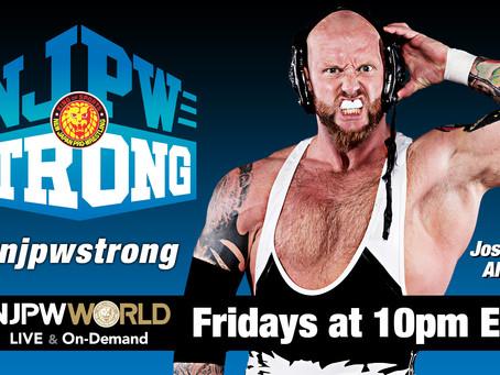 Josh Alexander To Debut On 6/18 NJPW Strong