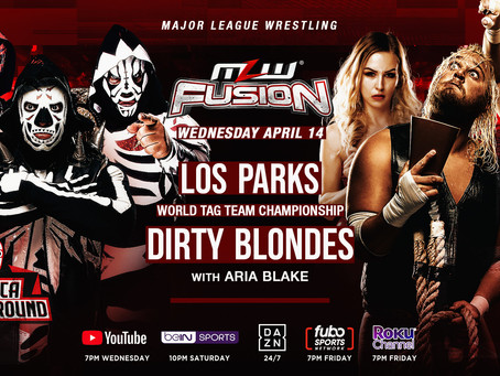 Los Parks vs. Dirty Blondes Championship Bout Set For MLW FUSION