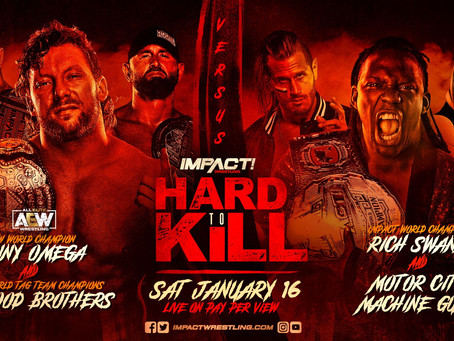Kenny Omega To Wrestle At Impact Wrestling's Hard To Kill Pay-Per-View