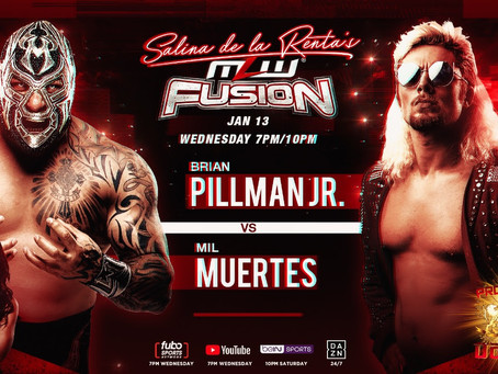 BREAKING: Pillman vs. Mil Muertes On MLW FUSION Tonight