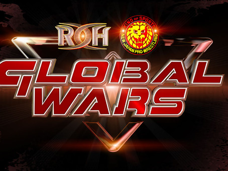 ROH Global Wars Tours Matches Announced