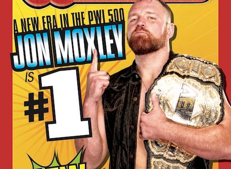 Jon Moxley Ranked  Number 1 Wrestler In This Year's PWI 500!