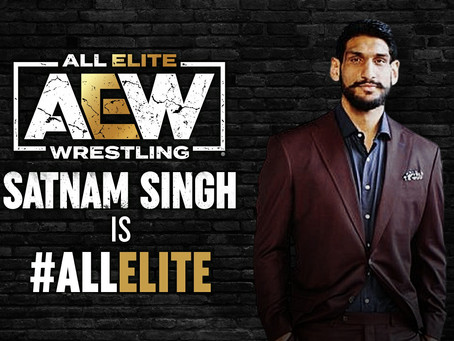 First-Ever NBA-Drafted Player From India Signs With AEW