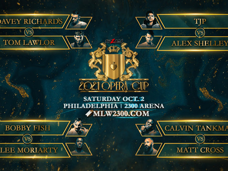 MLW Opera Cup Brackets Revealed