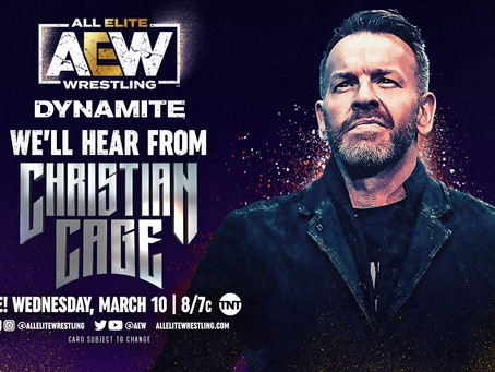Christian Cage Appearance Announced For AEW Dynamite