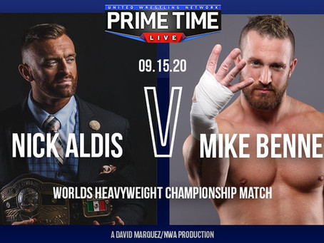 Nick Aldis Talks About His Upcoming Match With Mike Bennett