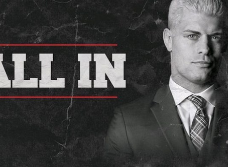 "Cody Rhodes Talks ""ALL IN"", Wrestling vs. Producing"