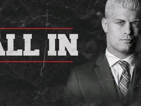 "Cody Rhodes Talks ""ALL IN"", Wrestling vs. Producing"