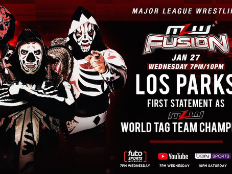 Los Parks Make First Statement As MLW Tag Team Champions