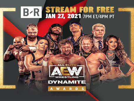 "TNT and AEW Announce Winners of Inaugural ""AEW Dynamite Awards"" Distributed Exclusively on Bleacher"