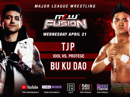 TJP vs. Bu Ku Dao Signed For Wednesday's MLW FUSION