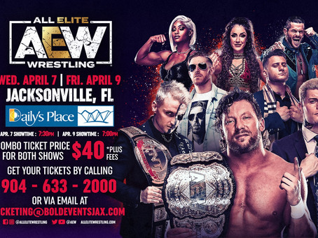 AEW Announces First-Ever Non-Televised Event
