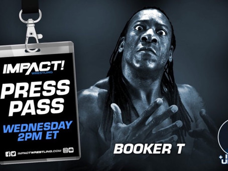 Booker T on Press Pass This Wednesday at 2PM ET