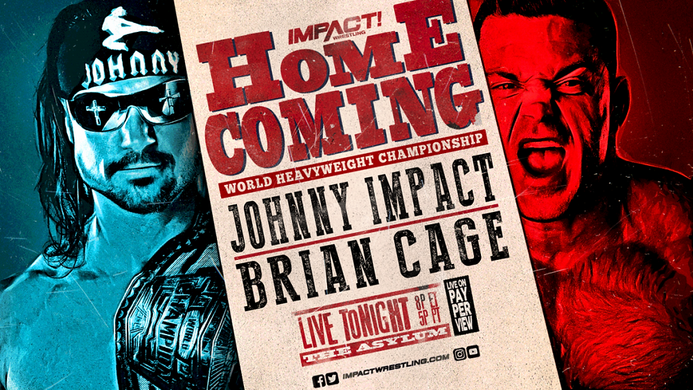 Main Event For The IMPACT Wrestling World Heavyweight Championship