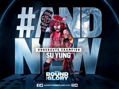 Su Yung Crowed IMPACT Knockout Champion At Bound For Glory