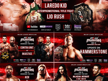 MLW FUSION Preview: MLW Title vs. AAA Title Interpromotional Dream Match