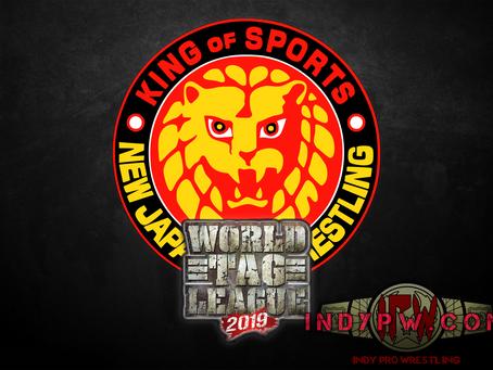 NJPW 2019 World Tag League Teams Lineups, Set For Huge Three Week Campaign