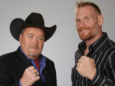 Jim Ross & Josh Barnett Both Working Final NJPW Shows For AXS TV