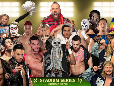 Warrior Wrestling Stadium Series Returns To Chicago Heights On July 17th With Another Stellar Lineup