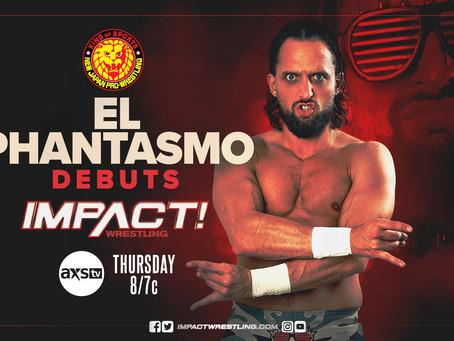 NJPW's El Phantasmo Set For Next Week's IMPACT
