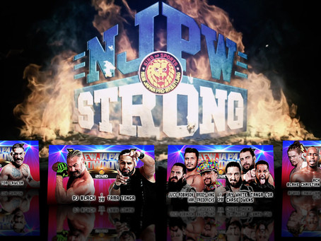 NJPW Strong 11/14/2020 Results