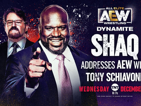 Shaquille O'Neal Confirmed For AEW Dynamite This Week