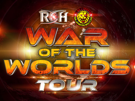 "ROH & NJPW Announced ""War Of The Worlds Tour"", Tickets On Sale Next Week"