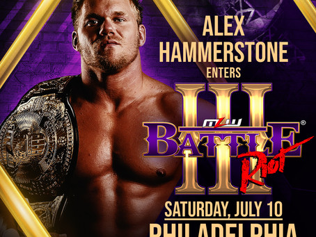 Hammerstone Enters MLW's Battle Riot