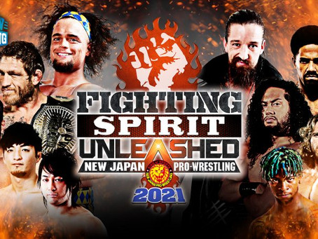 NJPW STRONG Hosting Fighting Spirit Unleashed With Fans In Attendance