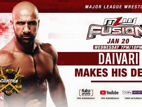 Daivari Makes MLW Debut This Wednesday On FUSION